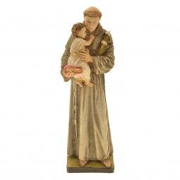 """Copertina di 'Statua in resina colorata di """"Sant'Antonio di Padova"""" - altezza 20 cm'"""