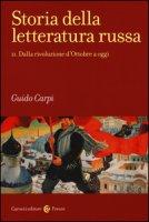 Storia della letteratura russa - Carpi Guido