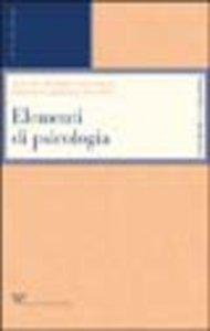Copertina di 'Elementi di psicologia'