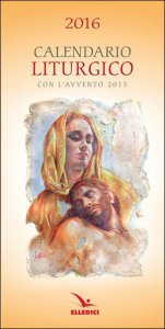 Copertina di 'Calendario liturgico 2016'