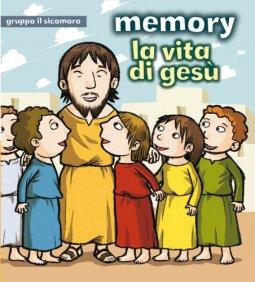 Copertina di 'La vita di Gesù. Memory. Con 48 carte'
