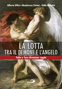 Copertina di 'La lotta tra il demone e l'angelo'