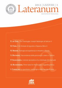 Copertina di 'Three tasks for theologians regarding Africa. A comment on the post-synodal letter Africae munus'