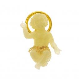 Copertina di 'Gesù Bambino fosforescente - altezza 4 cm'