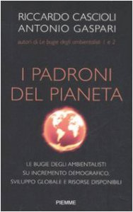Copertina di 'I padroni del pianeta'