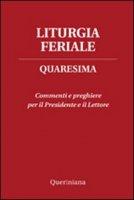 Liturgia feriale di  su LibreriadelSanto.it