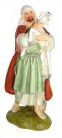 Pastore con pecora Linea Martino Landi - presepe da 12 cm