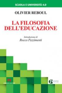 Copertina di 'La filosofia dell'educazione'