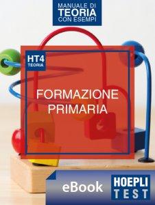 Copertina di 'Hoepli Test 4 - Scienze della formazione primaria'