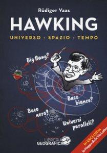 Copertina di 'Hawking per tutti. Universo, spazio, tempo. Con poster'