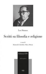 Copertina di 'Scritti su religione e filosofia'