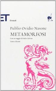 Copertina di 'Metamorfosi. Testo latino a fronte'
