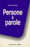 Persone & parole [vol_1] - Cavalleri Cesare