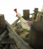 Immagine di 'Recinto Con Galline ? Bertoni presepe linea Natale'