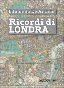 Copertina di 'Ricordi di Londra'