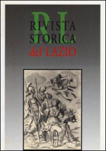 Copertina di 'Rivista storica del Lazio'