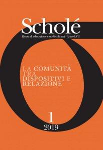 Copertina di 'Scholé. Rivista di educazione e studi culturali 1/2019'