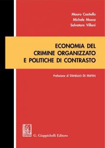 Copertina di 'Economia del crimine organizzato e politiche di contrasto'