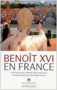 Copertina di 'Benoît XVI en France'