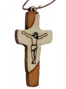 Copertina di 'Croce di San Francesco con laccio - altezza 5 cm'
