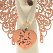 """Immagine di 'Statua in resina angelo ''Sei il mio angelo"""" - altezza 15 cm'"""