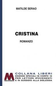 Copertina di 'Cristina. Ediz. a caratteri grandi'