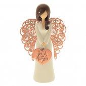"""Statua in resina angelo ''Sei il mio angelo"""" - altezza 15 cm"""