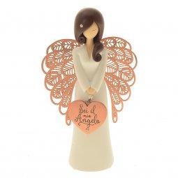 """Copertina di 'Statua in resina angelo ''Sei il mio angelo"""" - altezza 15 cm'"""