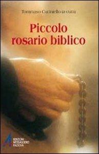 Copertina di 'Piccolo rosario biblico'