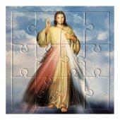 "Mini puzzle ""Gesù misericordioso"" - 12 pezzi"