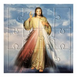 """Copertina di 'Mini puzzle """"Gesù misericordioso"""" - 12 pezzi'"""