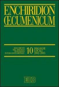 Copertina di 'Enchiridion Oecumenicum 10'