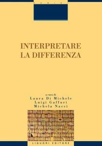 Copertina di 'Interpretare la differenza'