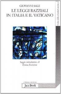 Copertina di 'Le leggi razziali in Italia e il Vaticano'