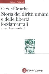 Copertina di 'Storia dei diritti umani e delle libertà fondamentali'