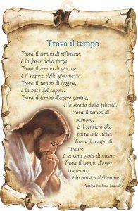 """Copertina di 'Tavoletta sagomata """"Trova il tempo""""'"""