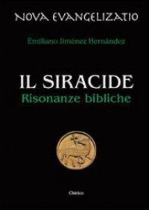 Copertina di 'Il Siracide. Risonanze bibliche'