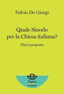Copertina di 'Quale Sinodo per la Chiesa italiana?'