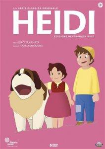 Copertina di 'Heidi. Cofanetto 1 (Episodi 01-25) (5 DVD)'