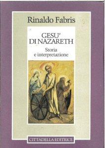 Copertina di 'Gesù di Nazareth: storia e interpretazione'