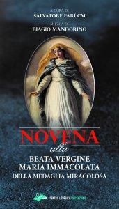 Copertina di 'Novena alla Beata Vergine Maria Immacolata della medaglia miracolosa'