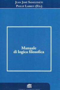 Copertina di 'Manuale di logica filosofica'