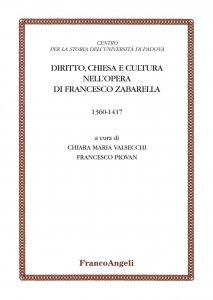 Copertina di 'Diritto, Chiesa e cultura nell'opera di Francesco Zabarella'