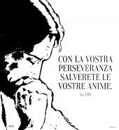 """Immagine di 'Zaino con coulisse - """"Con la vostra perseveranza..."""" (Lc 21,19)'"""