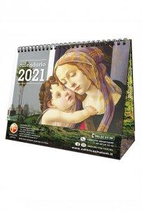 Copertina di 'Calendario da tavolo Shalom 2021'