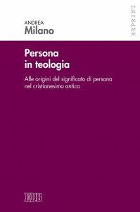 Copertina di 'Persona in teologia'
