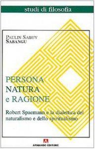 Copertina di 'Persona natura e ragione'