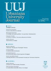 Copertina di 'Urbaniana University Journal. Euntes Docete'