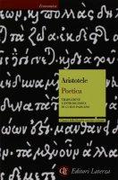 Poetica. Testo greco a fronte - Aristotele