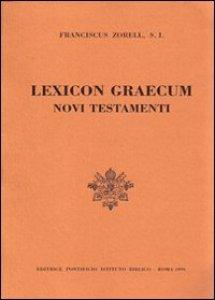 Copertina di 'Lexicon graecum Novi Testamenti (rist. anast. Parigi)'